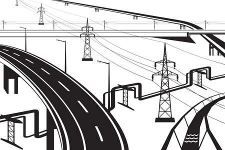 Diferentes instalaciones infraestructurales