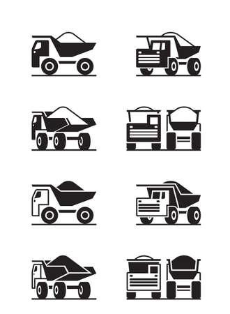 Camion per carichi pesanti in una prospettiva diversa