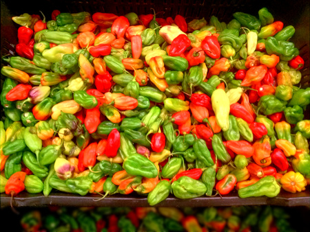 ajies peppers spicy hot