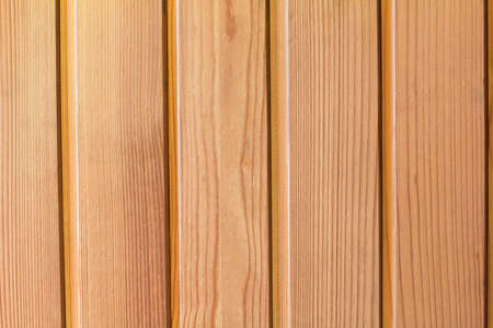 Pine wooden paneling as a background Stock Photo