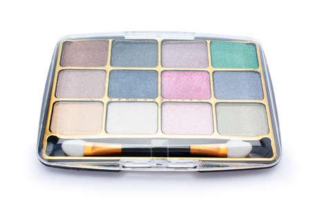 eyeshadow: eyeshadow on a white background isolated
