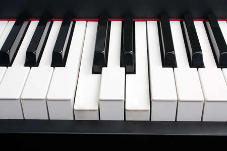 The Pressed Chord On Piano Keys Stock Photo Picture And Royalty