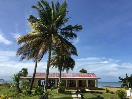 Grünes Dorf Fidschi Standard-Bild - 75921826