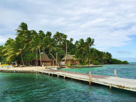 Beautiful nature on the island of Fiji Banque d'images