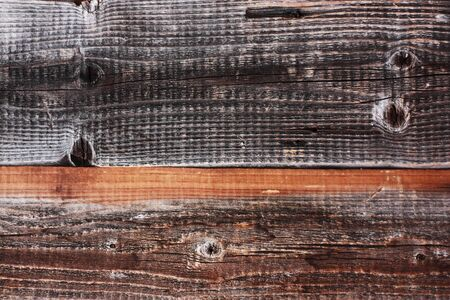 Beautiful old gray wooden background close up Stock Photo
