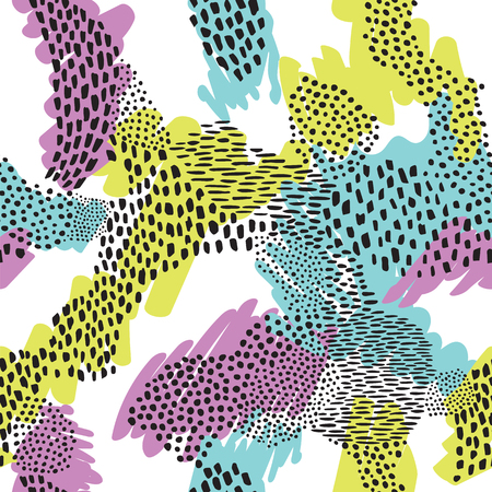 context: Fashionable seamless animal pattern background