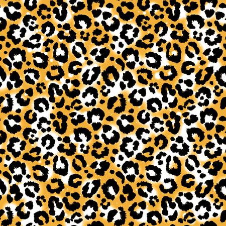 Impresión animal del modelo salvaje del leopardo.