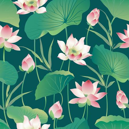 꽃 패턴입니다. 일러스트