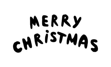 Christmas decorative items over white. Mega set Imagens