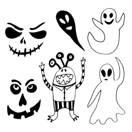 Halloween element for design, vector illustration