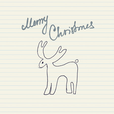 Christmas Message Vector