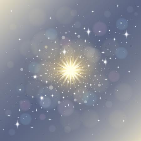 Magical stardust Illustration