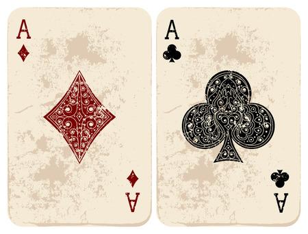 Ace of Diamonds  Clubs