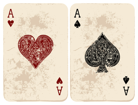 ace of spades: Ace of Hearts  Spades