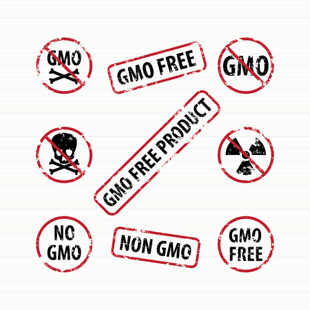 toxic product: GMO Free stamps set