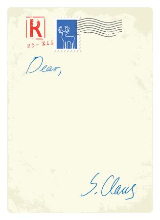 alfabeto con animales: Letter ftom Santa