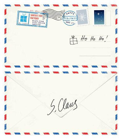 claus: Postcard Letter from Santa