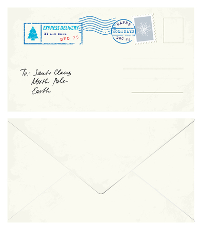 postcard: Postcard Letter to Santa