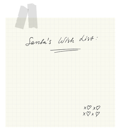 wish list: Santas Wish List