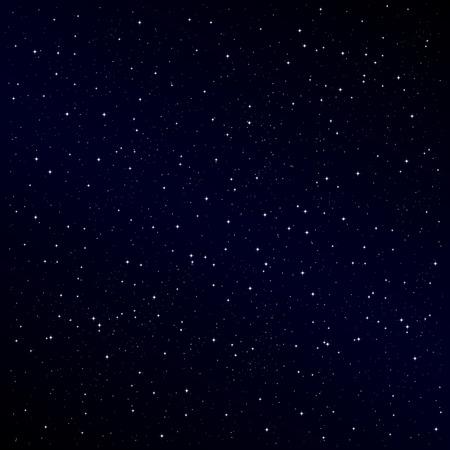 Starry fond de nuit Vecteurs