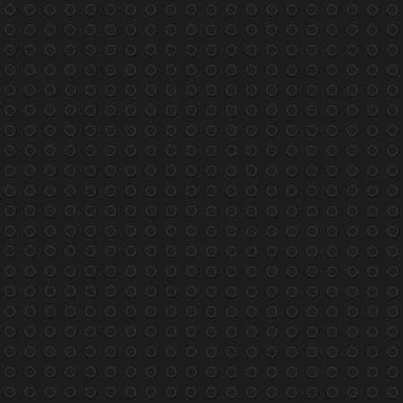 Black construction block texture. Vector Illustration