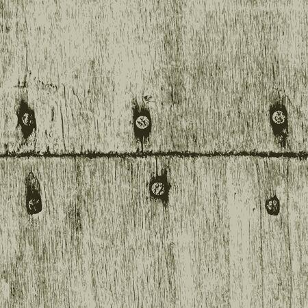 rusty: Old wood texture. Vector Illustration Illustration