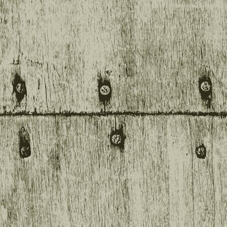 Old wood texture. Vector Illustration Illustration