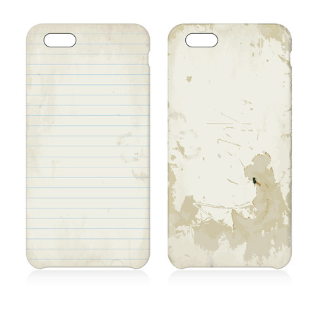 textured paper: Paper textured phone cases
