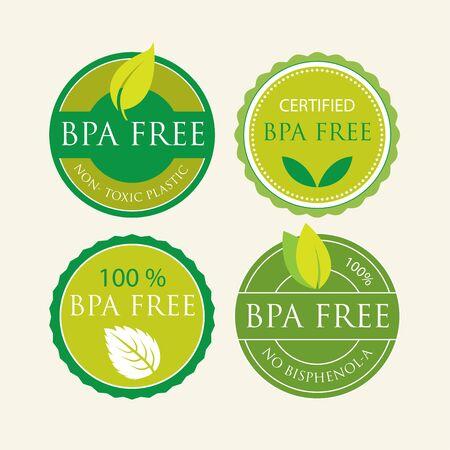 nontoxic: Bisphenol-A Free Label set
