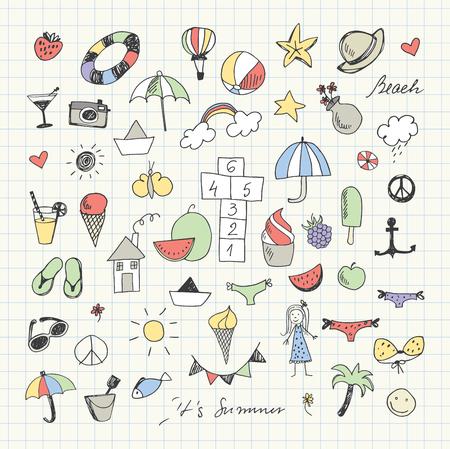 Summertime doodles