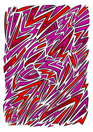 Illustration of abstract colour background