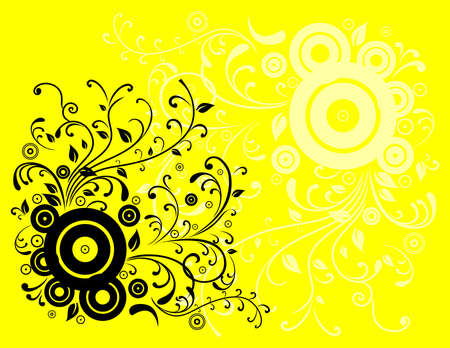 Illustration of abstract colour background Vector