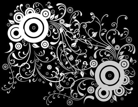 liane: Illustration of abstract white and grey background