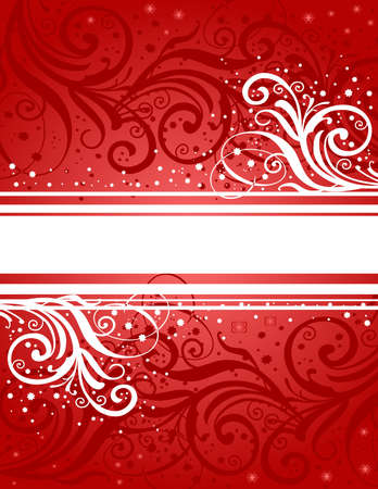 liane: Abstract red-white background