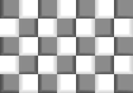 Illustration of abstract chess background