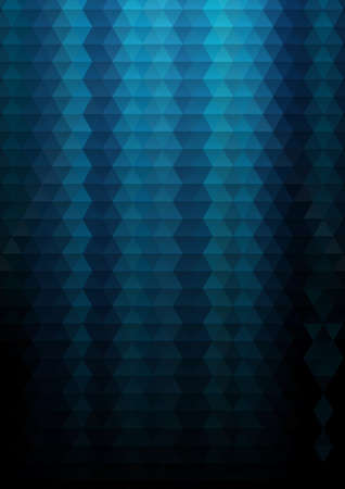 blue texture: Illustration triangle mosaic background in blue colors