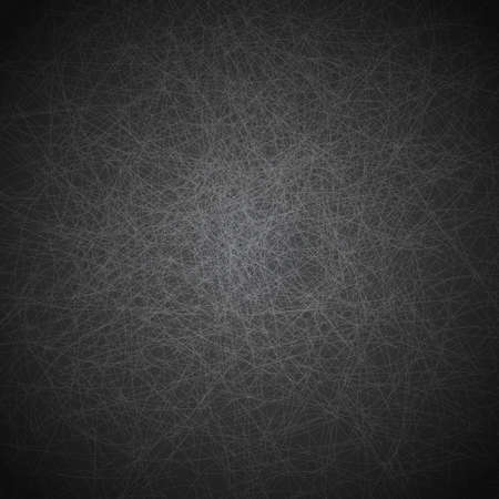 Illustration of abstract scratched texture in grey and black colors