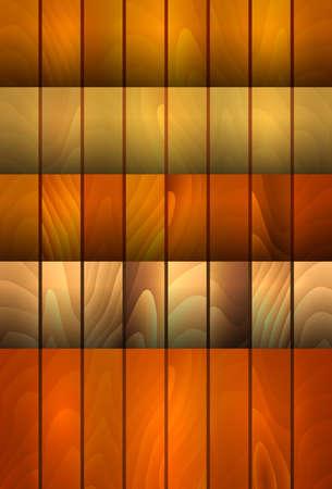 шпон: Иллюстрация Коллекция фонов с текстурой дерева в различных цветах