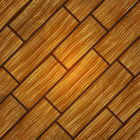 planks: Illustration of background from shabby wooden planks