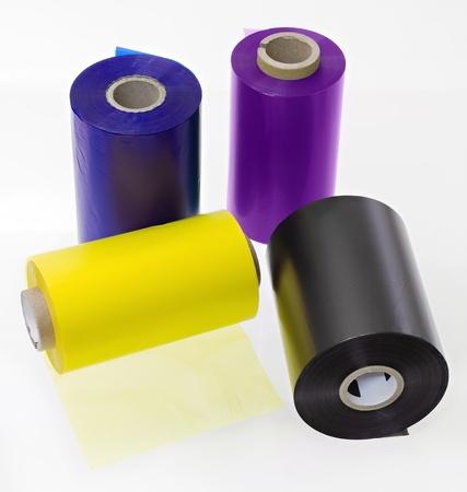 rollo pelicula: grupo de impresoras de transferencia de rollos