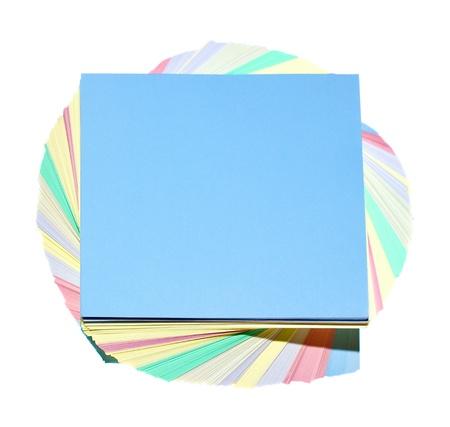 摘要: 顏色貼紙孤立在一個白色背景