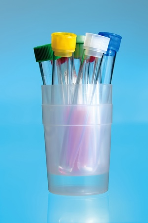 compilation of test tubes photo