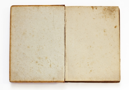 Old book isolated on white background Stock Photo - 14398506