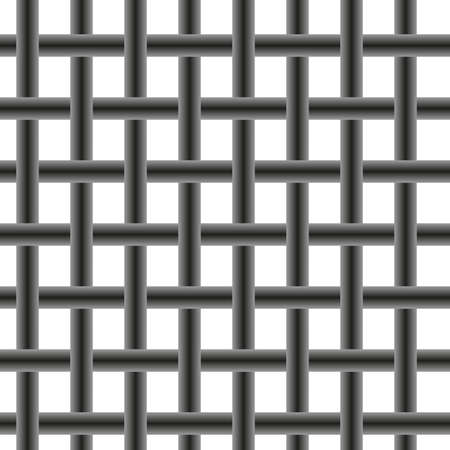 strictly: Background. The pattern in the form of metal mesh
