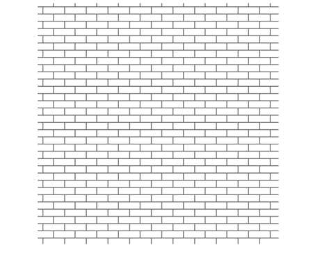 strictly: Background brick wall, a strict pattern Illustration