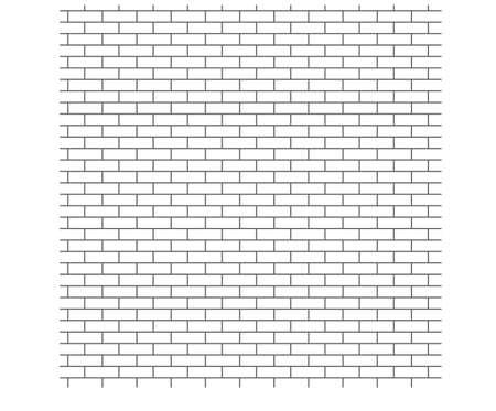 strictly: Background brick wall, a strict pattern Illustration