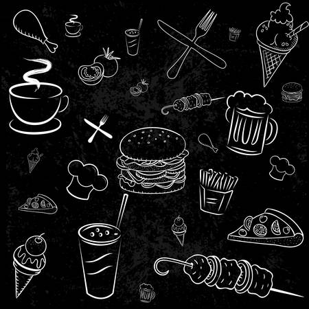 Wallpaper, Menu for pizzerias and restaurants. Image products.