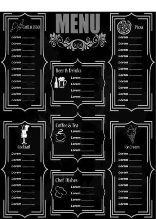 black coffee: Wallpaper, Menu for pizzerias and restaurants. Image products.