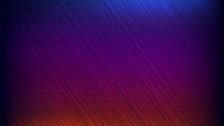 Neon abstract lines design on gradient background. Futuristic background for landing page. 免版税图像