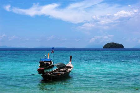Fischerboot on the beach photo